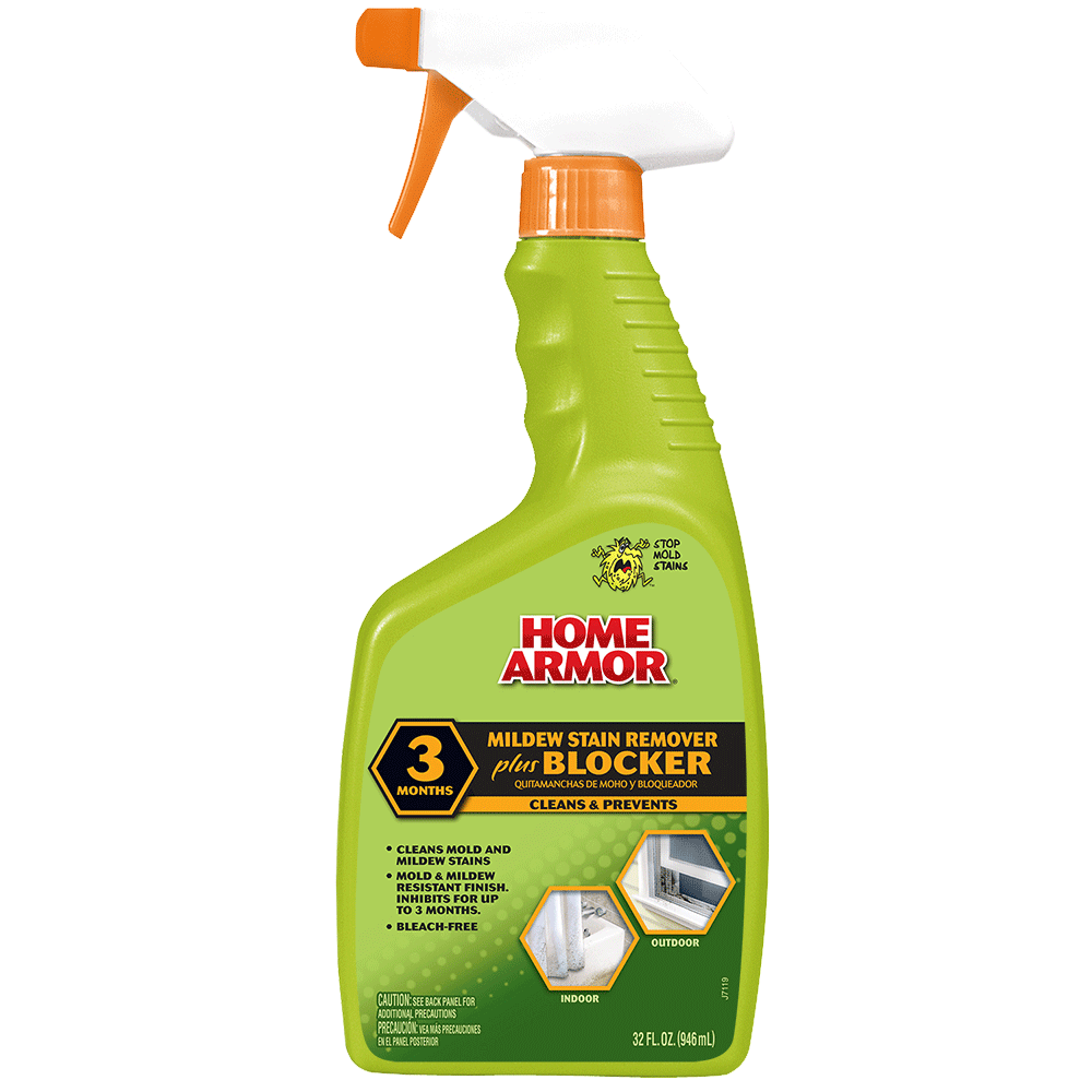 Home Armor Mildew Stain Remover Plus Blocker